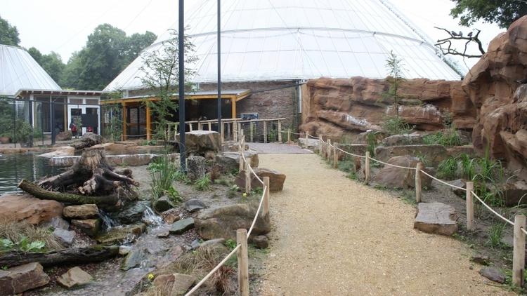 Übernachtung im Zoo Krefeld. (xity-Foto: E. Aslanidou)