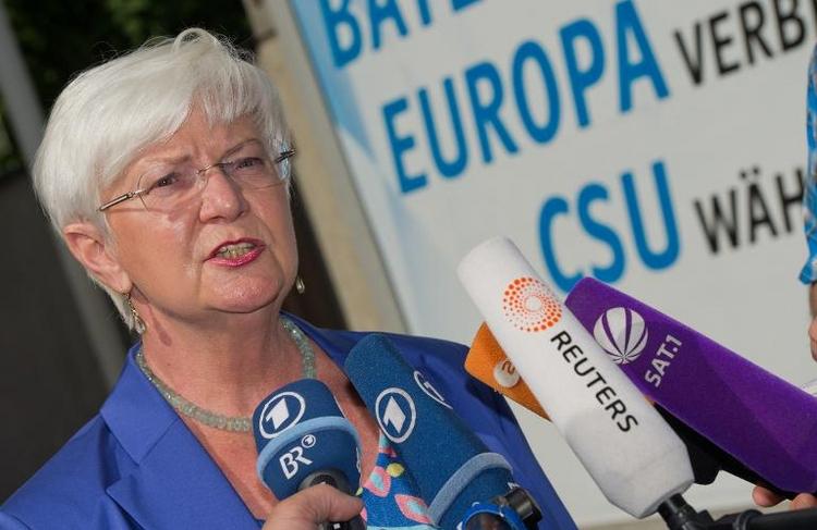 """Hasselfeldt: """"Zu viel Testosteron"""" in der CSU (© 2014 AFP)"""