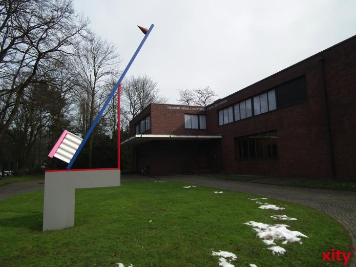 Kunstmuseen Krefeld: Vier Bilder von Piet Mondrian in Liverpool. (xity-Foto: E. Aslanidou)