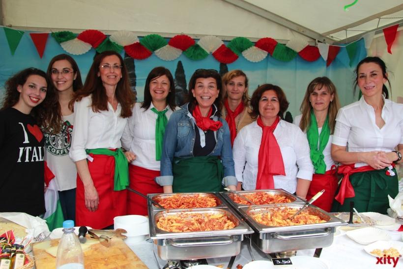 .. und nebenan war die italienische Küche vertreten (xity-Foto: P. Basarir)