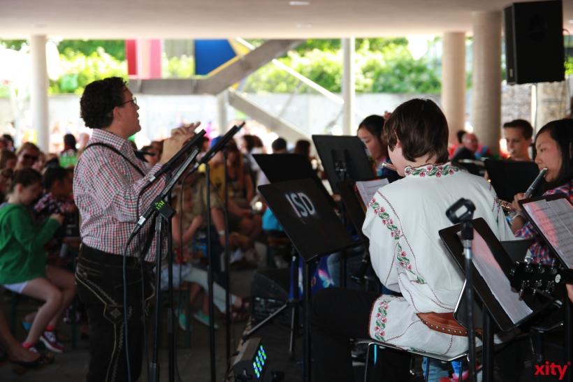 Für musikalische Untermalung sorgten die verschiedenen Schulbands der ISD (xity-Foto: P. Basarir)
