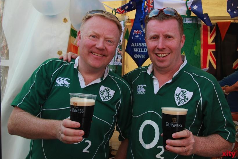 Die Iren reichten eine ganz besondere, heimische Spezialität (xity-Foto: P. Basarir)