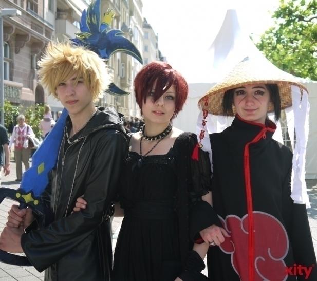 Im CCD Congress Center Düsseldorf treffen sich tausende Japan- und Anime-Fans zur DoKomi (xity-Foto: T. Hermann)