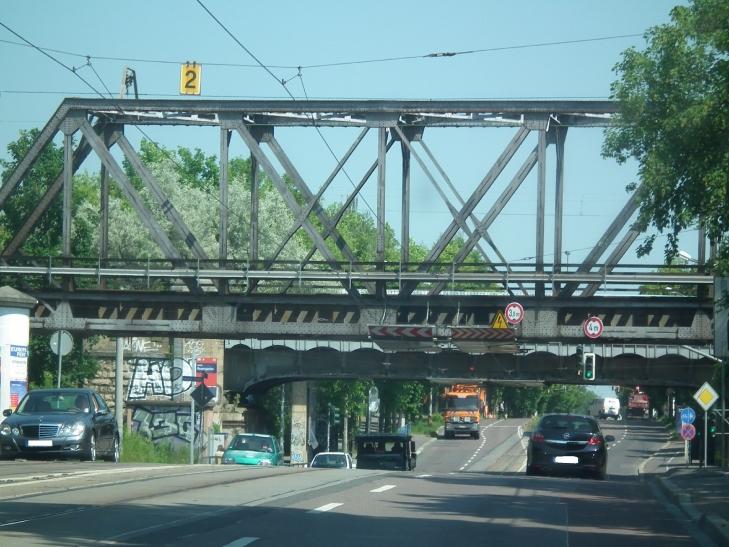 Kommunale Brücken in keinem guten Zustand (xity-Foto: D. Postert)