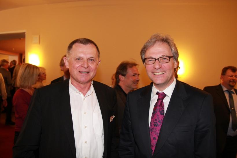 Jochen Grote und Hans-Georg Lohe (xity-Foto: P. Basarir)