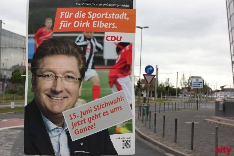 Dirk Elbers ist seit 2008 Oberbürgermeister der Landeshauptstadt (xity-Foto: D. Creutz)