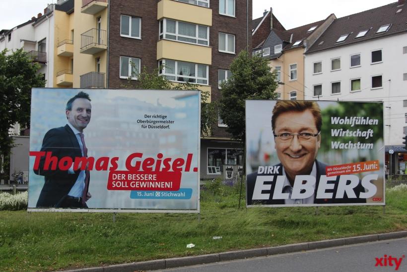 In Zehn Tagen ist Stichwahl in Düsseldorf (xity-Foto: D. Creutz)