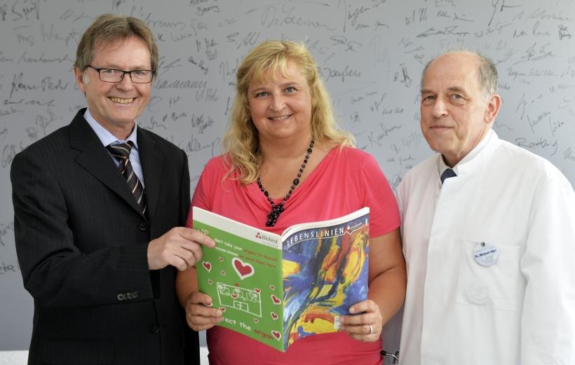 (v.l.) Karsten Mankowsky, Ulrike Montini und Dr. Michael Dörr (Foto: M. Reuter/Rhein-Kreis Neuss )