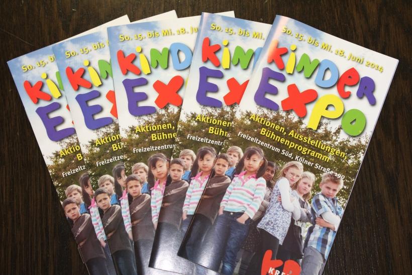"""Zum sechsten Mal wird die """"Kinder Expo"""" vom 15. bis 18. Juni 2014, im Krefelder Freizeitzentrum Süd veranstaltet. (xity-Foto: E. Aslanidou)"""