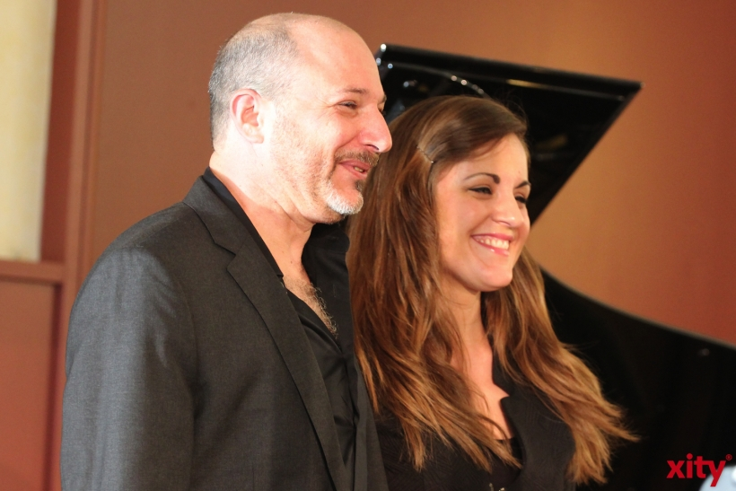 (v.l.)Russ Spiegel & Rachel Eckroth spielten das erste Konzert auf  der Jazz Rally 2014 (xity-Foto: D. Creutz)