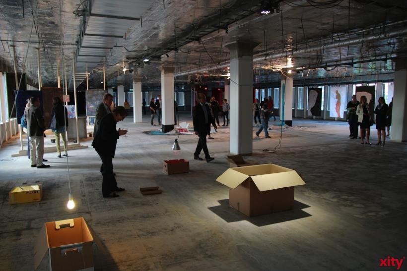 Ausstellung 5th floor Inner Circle (xity-Foto: H. Müller)