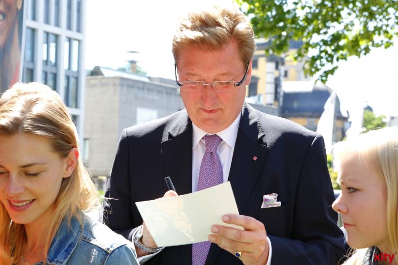 Signierstunde mit Dirk Elbers (xity-Foto: D.Creutz)