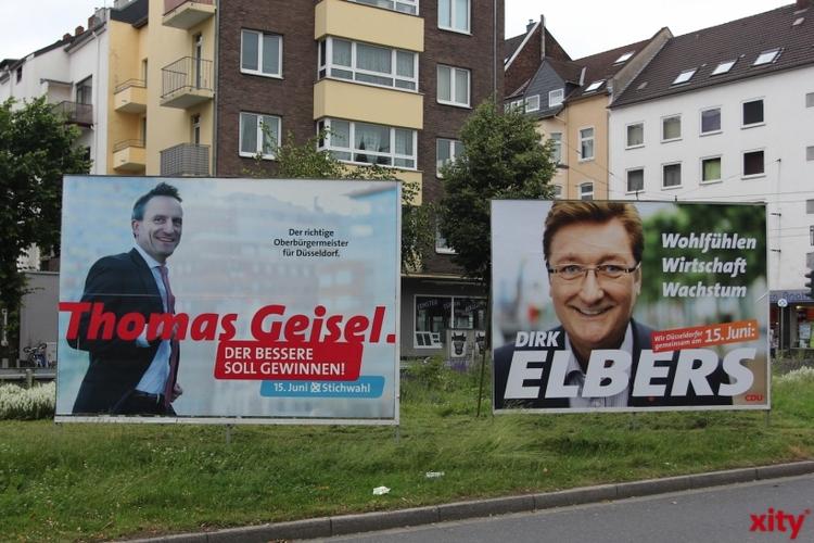 Hohe Briefwahlbeteiligung zur OB-Stichwahl am 15. Juni in Düsseldorf (xity-Foto: D. Creutz)