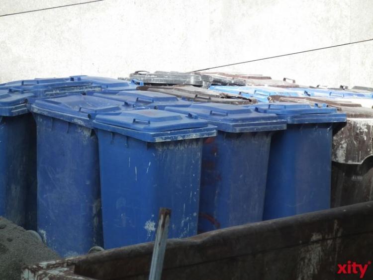 Abfallaufkommen in NRW in den letzten Jahren gesunken (xity-Foto: M. Völker)