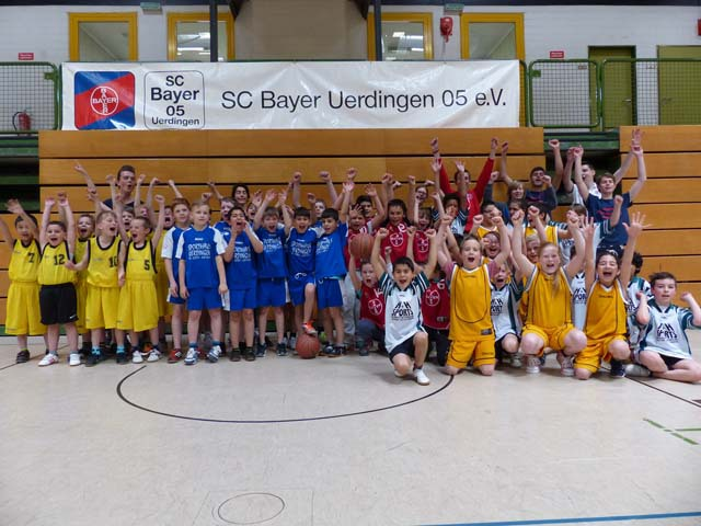 Grundschule Bismarckstraße ist Basketball-Stadtmeister. (Foto: Lothar Strücken)