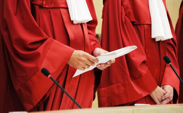 Karlsruhe urteilt über Rederecht von Bundespräsidenten  (© 2014 AFP)