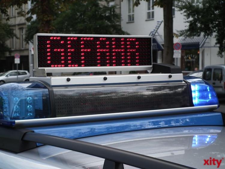 Polizeiliche Bilanz zum Unwetter im Regierungsbezirk Düsseldorf (xity-Foto: M. Völker)