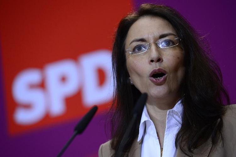 SPD fordert von Union Einlenken in Streit um Mindestlohn (© 2014 AFP)