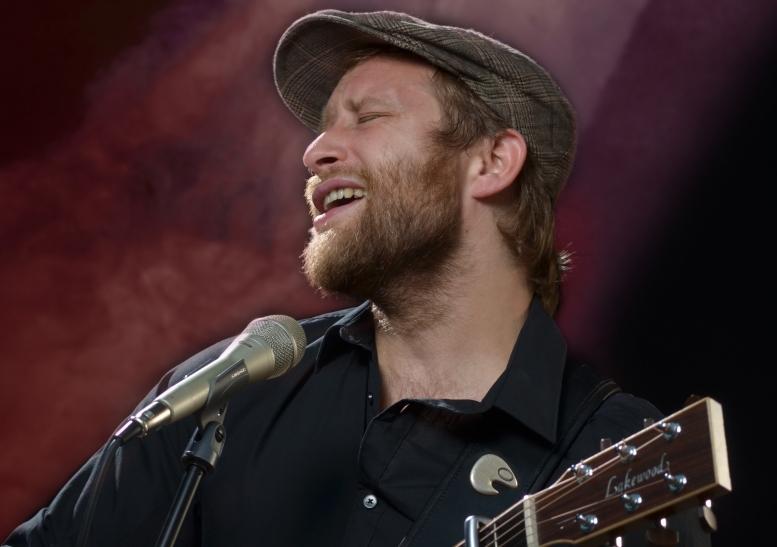 Am 1. November 2014 gastiert Gregor Meyle mit Band in der Kulturfabrik Krefeld. (Foto:Ulrich Traub)