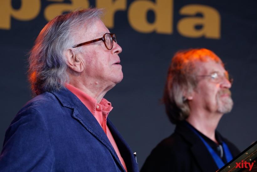 (v.l.) Klaus Doldinger und Ali Haurand (xity-Foto:D. Creutz)