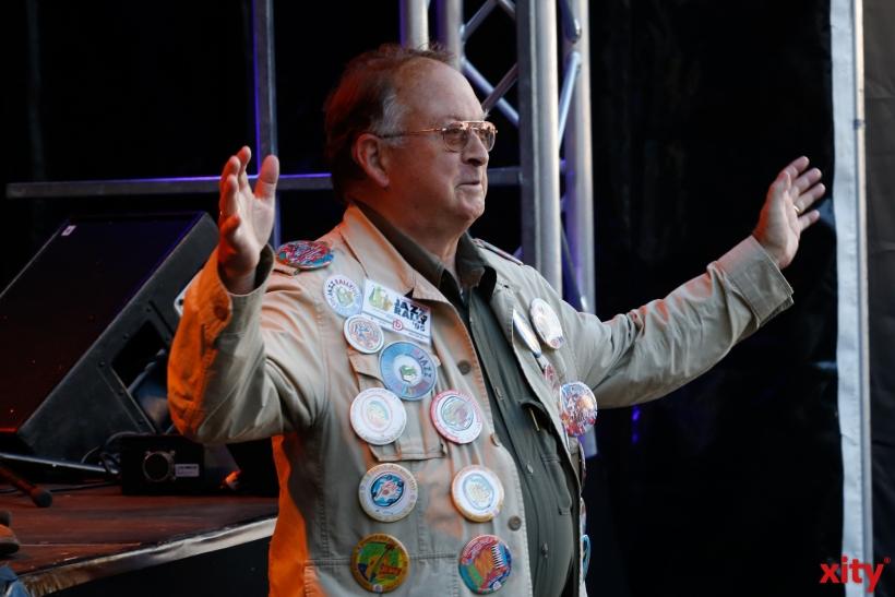Seit 22 Jahren kauft er die Jazz Rally Button (xity-Foto: D. Creutz)