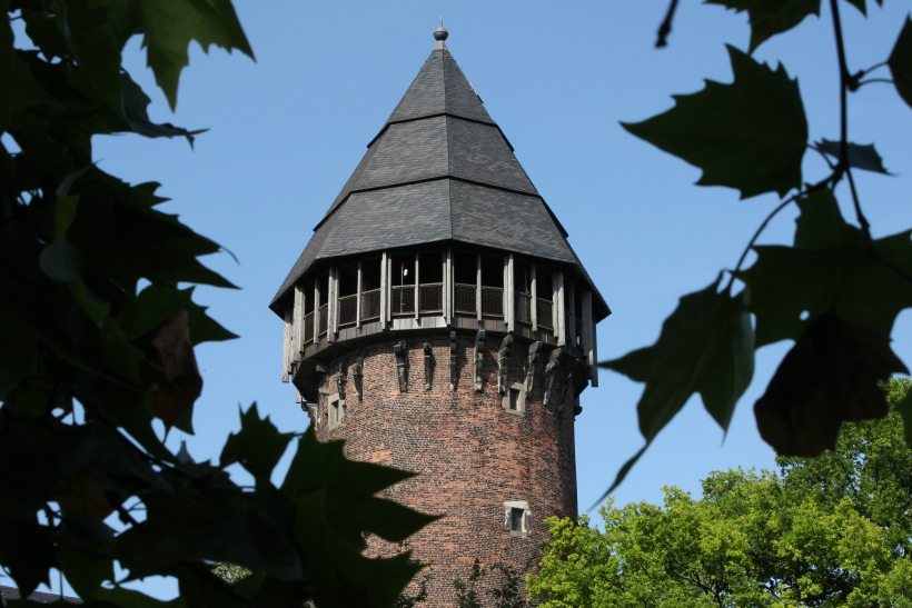 Buntes Treiben auf Burg Linn. (xity-Foto: E. Aslanidou)