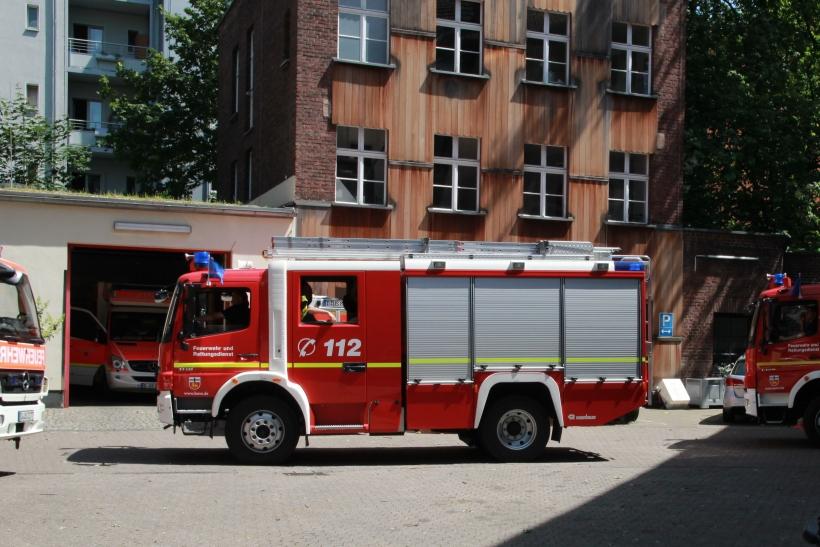 Hochbetrieb bei der Feuerwehr (xity-Foto: C. D´Ubaldi)