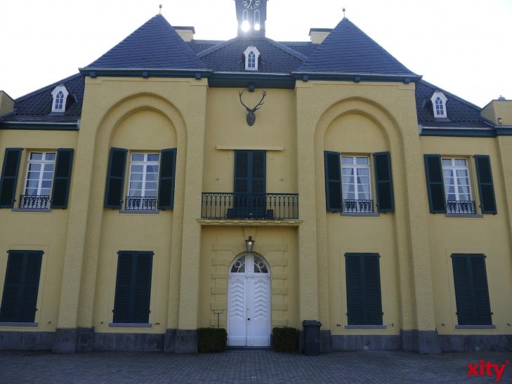 Spurensuche im Jagdschloss des Museums Burg Linn. (xity-Foto: E. Aslanidou)