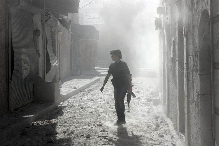 """Verfassungsschutz: Syrien-Rückkehrer """"erhebliche Gefahr"""" (© 2014 AFP)"""