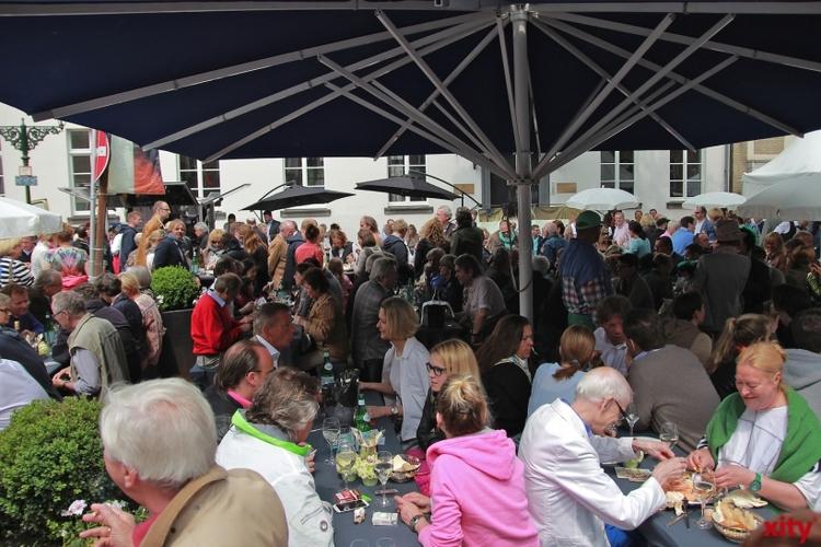 Das Weinblütenfest in Düsseldorf fällt in diesem JAhr dem Sturm zum Opfer (xity-Foto: P. Basarir)