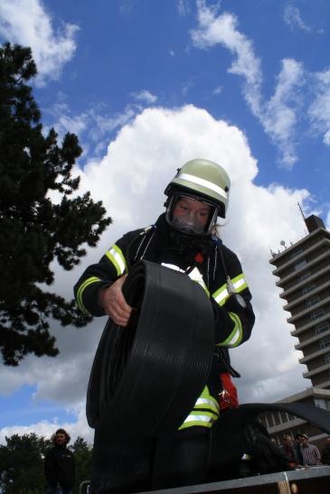 Der Inernationale Feuerwehrwettkampf in Mönchengladbach (Foto: Feuerwehr MG)