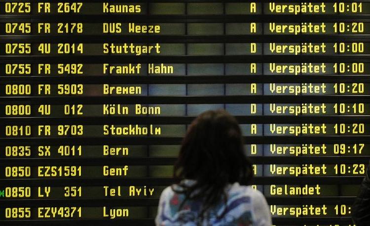 BGH urteilt im Streit um Streik-Ausfälle für Fluglinien (© 2014 AFP)