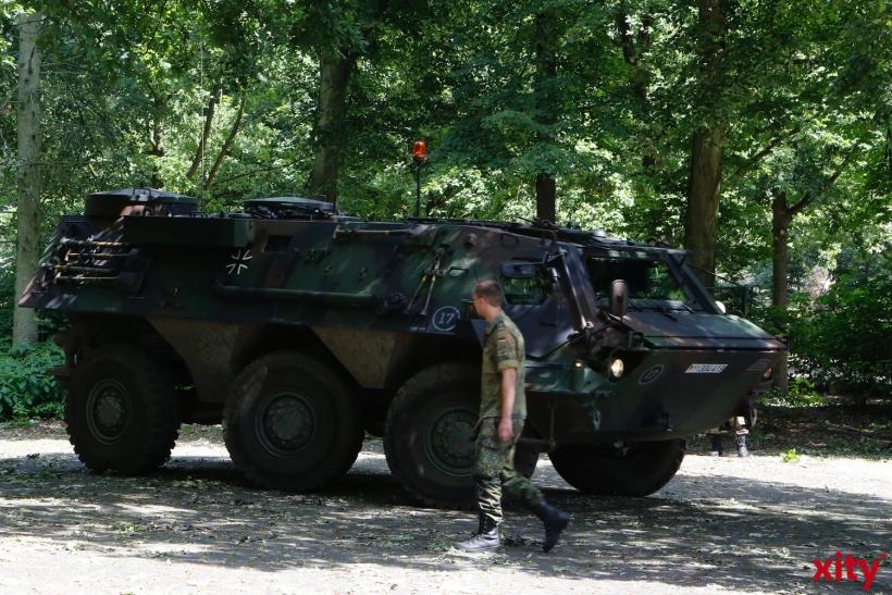 Radpanzer Fuchs der Bundeswehr (xity-Foto: D. Creutz)