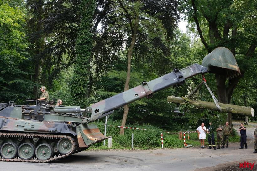 Bundeswehreinsatz in Düsseldorf (xity-Foto: D. Creutz)