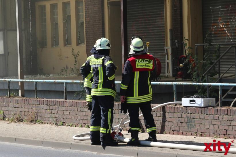 Feuerwehreinsatz an der Fringsstraße (xity-Foto: P.I.)