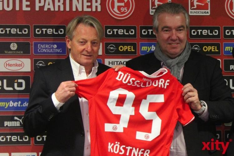 Nach seiner Amtseinführung am 7. Januar 2014, wird Lorenz-Günther Köstner in der kommenden Saison von Oliver Reck als Cheftrainer abgelöst (xity-Foto: H. Müller)