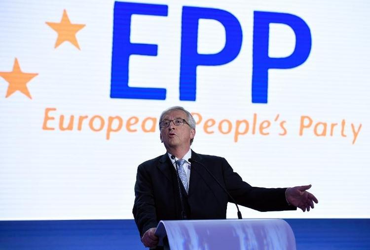 Steinmeier rechnet mit Juncker als EU-Kommissionspräsident (© 2014 AFP)