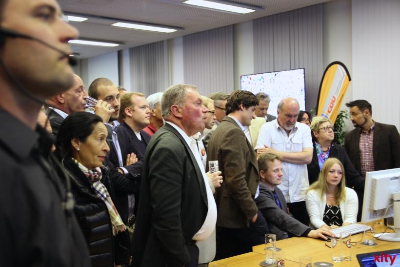 Die Stimmung bei der CDU war am Wahlabend alles andere als gut (xity-Foto: P. I.)