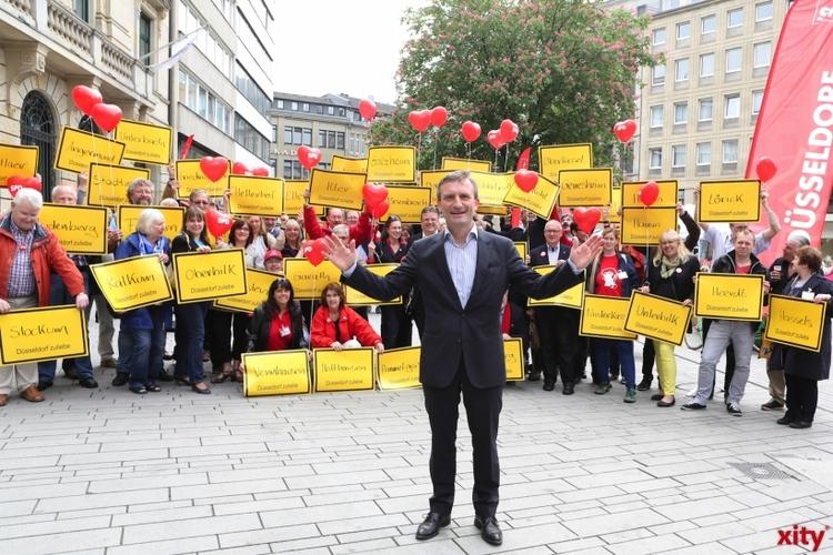 Thomas Geisel hat die Stichwahl um das Amt des Oberbürgermeisters in Düsseldorf gegen den jetzigen Amtsinhaber Dirk Elbers gewonnen (Foto: D. Creutz)