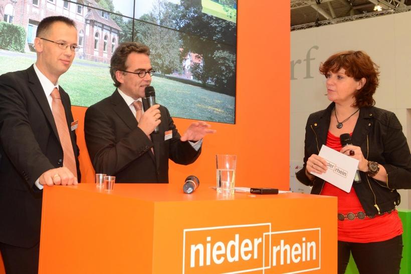 """Auf der """"Expo-Real 2013"""" wurde erstmals das Großprojekt bekannt gegeben. (Foto: Lothar Strücken)"""