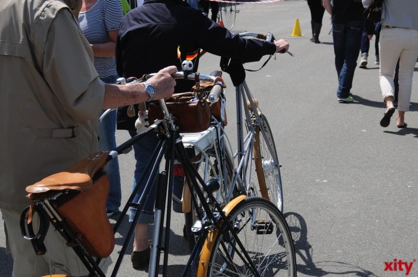 Neue Fahrradkampagne in Düsseldorf wirbt für mehr Sicherheit (xity-Foto: P. Basarir)