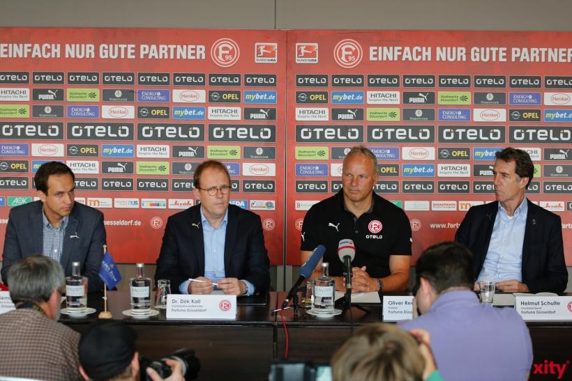 Obwohl am Freitag schon angekündigt, machte die Fortuna die Trainerwahl heute offiziell (xity-Foto: D. Creutz)