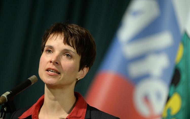 AfD-Chefin Petry steht vor Privatinsolvenz (© 2014 AFP)