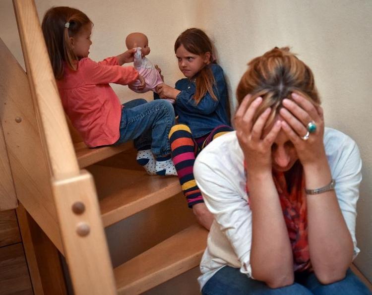 Immer mehr Mütter leiden an Burn out und Angstzuständen (© 2014 AFP)