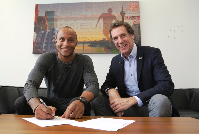 Christopher Avevor wechselt zu Fortuna Düsseldorf (Foto: www.f95.de)