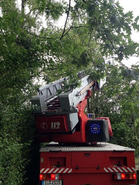 Vermehrte Drehleiter-Einsätze in NRW (Foto: Verband der Feuerwehren in NRW e. V.)