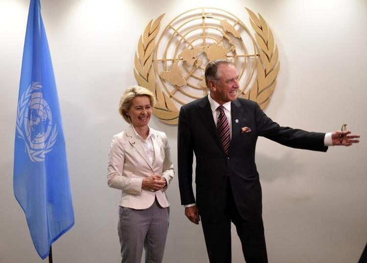 Stärkere deutsche Beteiligung an UN-Missionen möglich (© 2014 AFP)
