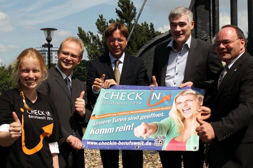 CHECK IN Berufswelt zum zweiten Mal in Mönchengladbach (Foto: Thomas Feldges)