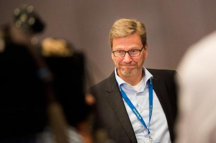 Guido Westerwelle an akuter Leukämie erkrankt (© 2014 AFP)