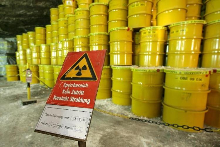 Stuttgart will 2015 offenbar Atommüll aufnehmen (© 2014 AFP)